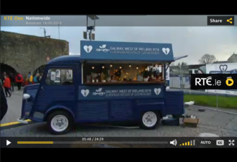 Galway-West of Ireland starring on national television
