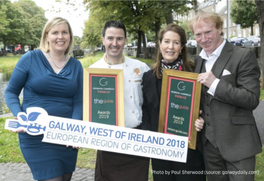 Spirit of the European Region of Gastronomy – Three Galway businesses awarded