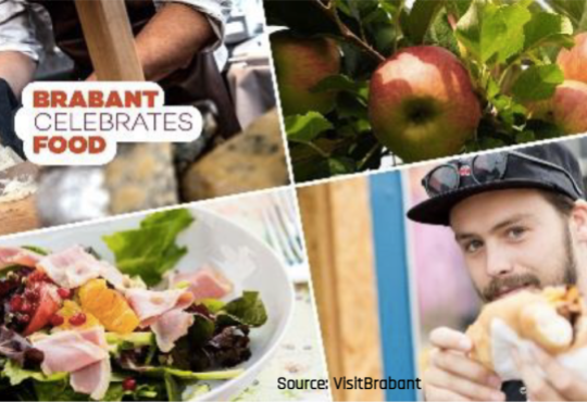 Legacy announced for North Brabant European Region of Gastronomy 2018