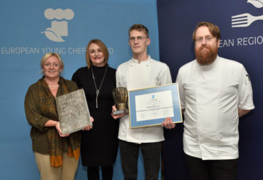 Winner of the European Young Chef Award 2018 announced!