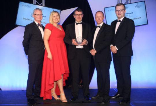 Galway-West of Ireland awarded Best Economic Development Project