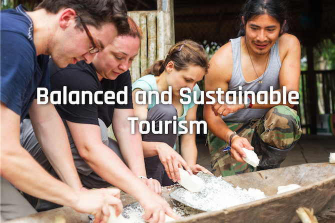 Balanced and Sustainable Tourism