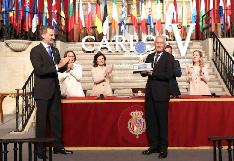 Carlos V European Award granted to the cultural routes programme of the council of Europe