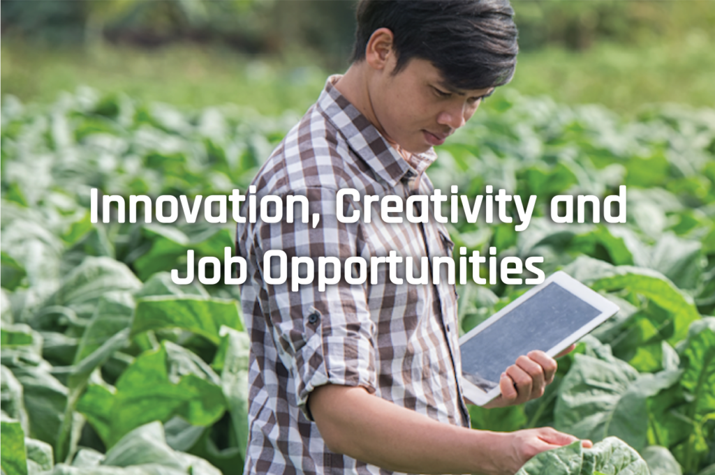 Innovation, Creativity and Job Opportunities
