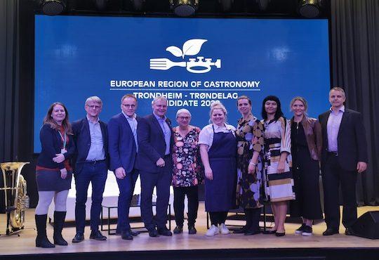 Trondheim-Trøndelag presents bid to be European Region of Gastronomy 2022