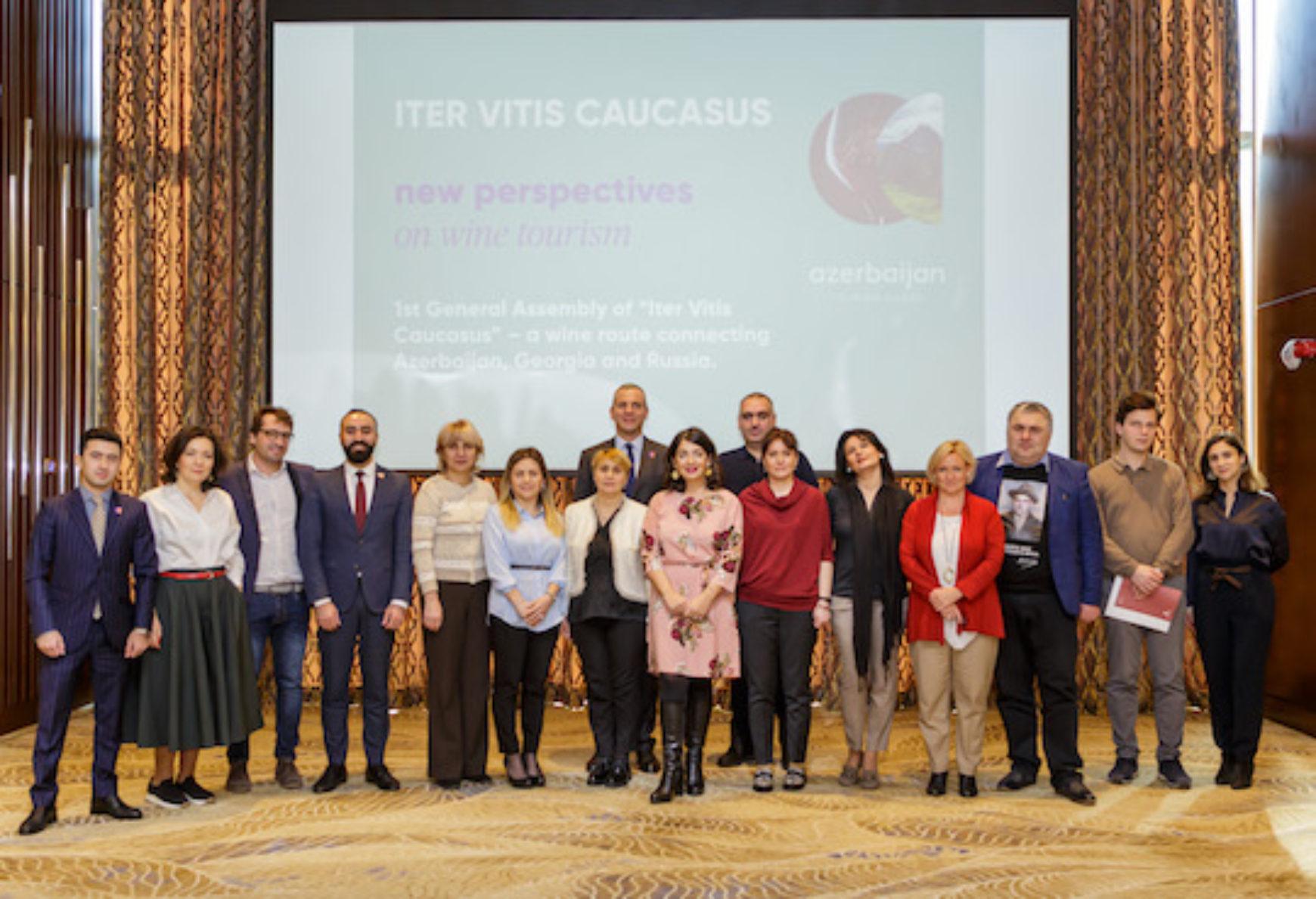 Iter Vitis Caucasus begins with honourable principles