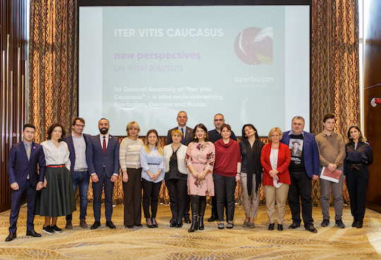 Iter Vitis Caucasus begins with honourable principles