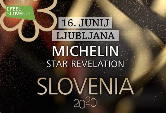 Slovenia hosts its first Michelin Stars Revelation event