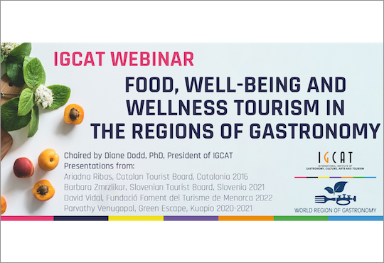 European Regions of Gastronomy discuss opportunities in food and well-being tourism