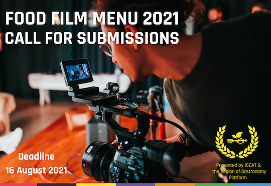 Call open for the Food Film Menu 2021