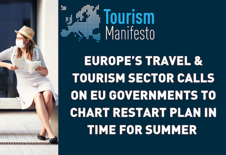 Europe's travel & tourism sector calls for a restart plan in Europe