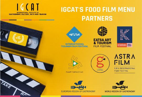 Tourism Film Festival sign-up to screen IGCAT's Food Film Menu