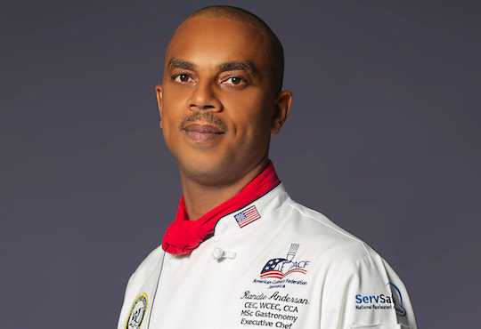 Chef Randie Anderson to contribute to Jamaica's food tourism strategy
